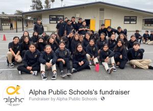 Alpha Public Schools fundraiser